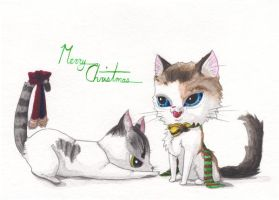 Christmas Card 2010 by AnimeGirlMika