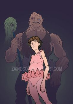 Toxie and Melvin by zainocof
