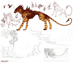 Redesign Hw For Digital Painting (sketches) by Hauket