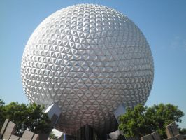 Spaceship Earth upclose by TaRtOoN-Man94