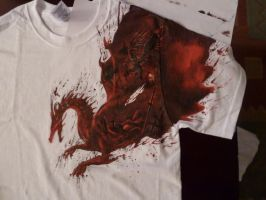 Dragon Age T-shirt, front view by Shadowfax999