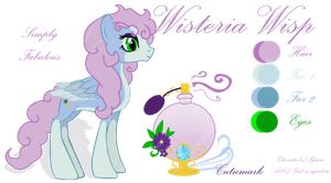 Wisteria Wisp REF sheet by Lost-in-Equestria