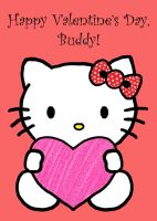 Hello Kitty Valentine by HermioneFrost