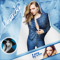 PNG Pack (101) Amanda Seyfried by IremAkbas