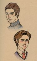 Charles and Erik by damsel-in-distrust