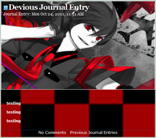 zatsune mikuo journal skin by yuzupi