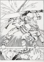 CLOUD VS WADE SAMPLE PAGE by WadeVesecha