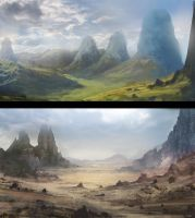 Photobash Paintovers by willroberts04
