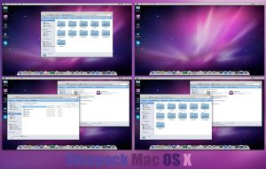Mac OS X Skinpack Win7/8/8.1 by TheDhruv