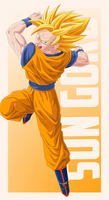 Son Goku Vector PREVIEW by TattyDesigns