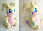Shiny Goodra Plush by d215lab
