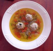 Soup with meatballs by maylamel