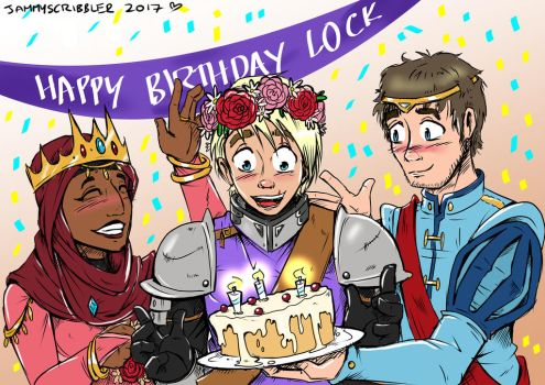 Happy Birthday Lock! by JammyScribbler
