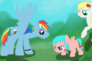 AT: Flying Lessons with Daddy, Mommy, and Me by XxNinjaUnicornxX