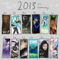 2013 Summary of Art by Lolilith