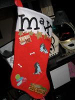 Puppy Stocking (Cavalier) by marlipaige