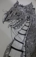 Dragon All Pen No Pencil by jashinist112