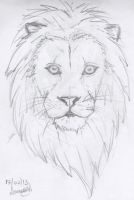 Lion -The King by sayako-arts