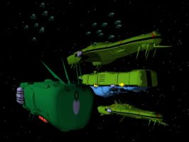 Zentraedi Fleet by X1Commander