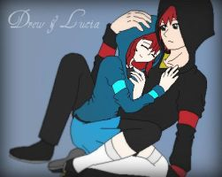 .:AotA:. Drew and Lucia by Otaku-Mookers