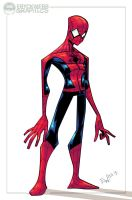 Stylized Spidey - Warmup 9513 by EryckWebbGraphics