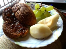 breakfast bread n fruit 2 by plainordinary1