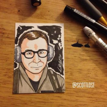 LouisTully sketchcard by Scott-Lost