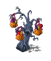 Halloween tree by andretapol
