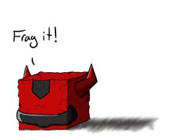 TFA: Cliffjumper Cube by Shirobutterfly