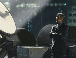 Commissioner Gordon by scarrart