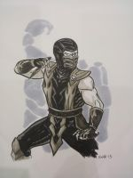 FanExpo Scorpion by AndrewKwan