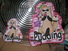 Pudding Badges by milleniumocarina