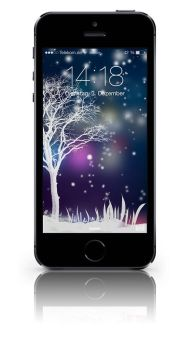 iPhone winter background by janosch500