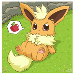 Chubby Flareon by pichu90