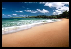 Kapalua Beach by BrightRedFox