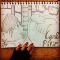 Cross Your Heart (Carl and Ellie) by VIVALASEBBIE