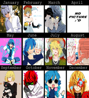 2014 Art Summary by MeroNello