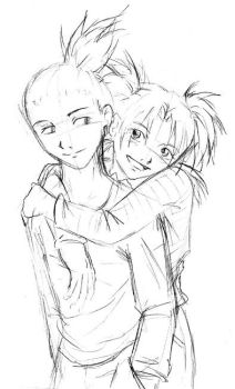 ShikaTema sketch by Kuumato