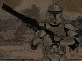 clone trooper by b-312