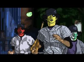 Baseball Furies Coloured by ralphenstein