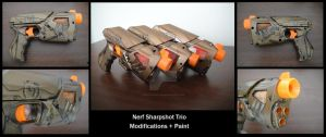 Nerf Sharpshot Trio Mod by piratecaptain