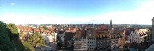 nuremberg 160 degrees panorama by suckup