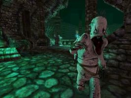 amnesia monster 3 TO CLOSE by torque31