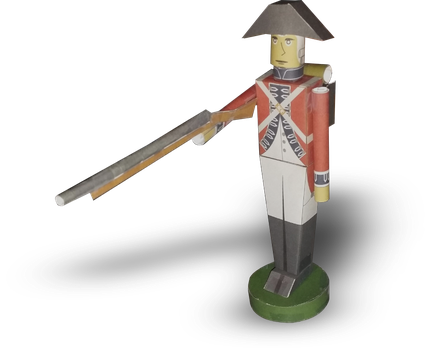 Paper Toy Soldier by RocketmanTan