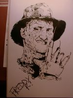 Big grin by FreddyKrueger