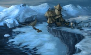 Frozen Outpost by TheRogueSPiDER