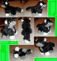 WASUPWOLF1 Mini plush commission by JamJams