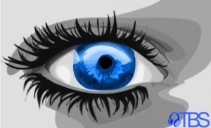 Big Blue Eyes by TBS-Tobias