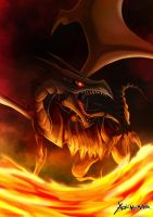 Red Eyes black dragon by Yaoi-N0-Marik