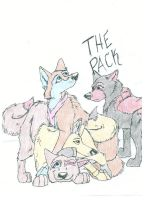 The Pack Tribute by ryderwolf24